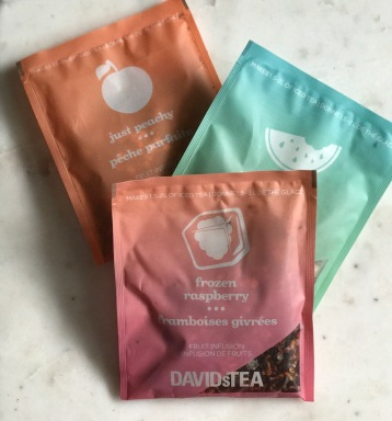 packets of tea